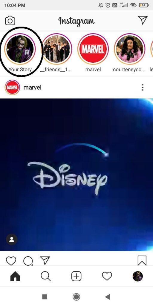 Delete Instagram Story