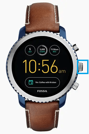 Factory Reset Fossil Smartwatch