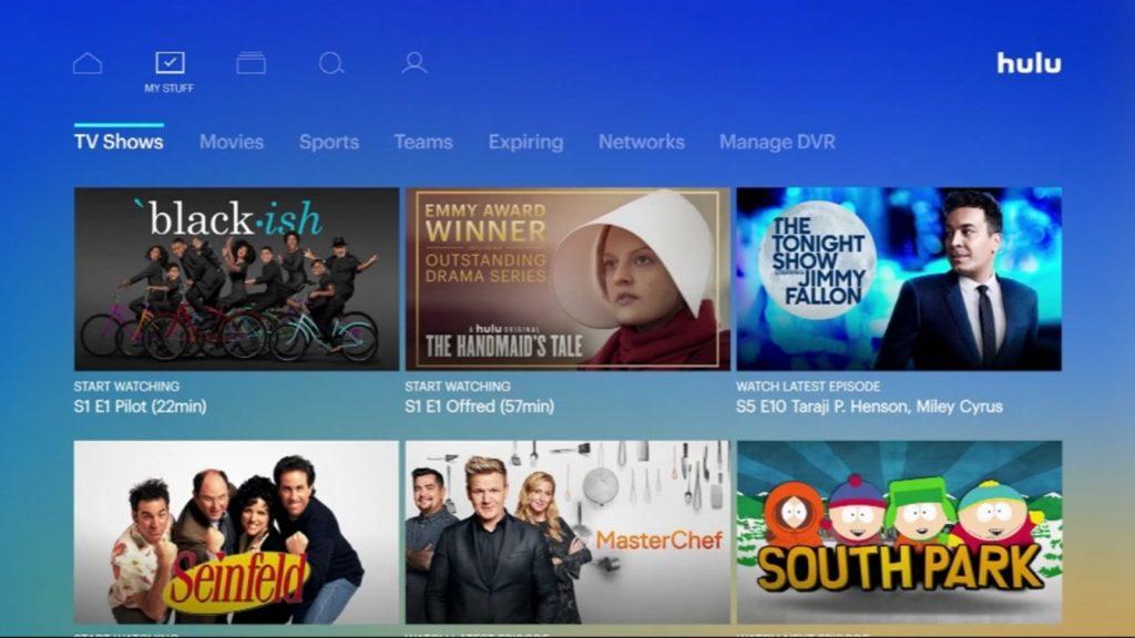 Hulu on Vizio Smart TV