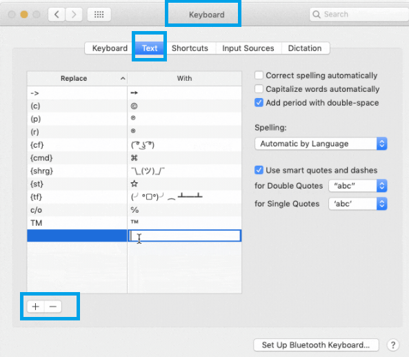 Type Arrow symbols on Mac - Customize Keyboard