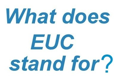 What Does EUC Mean and Where it is Used?