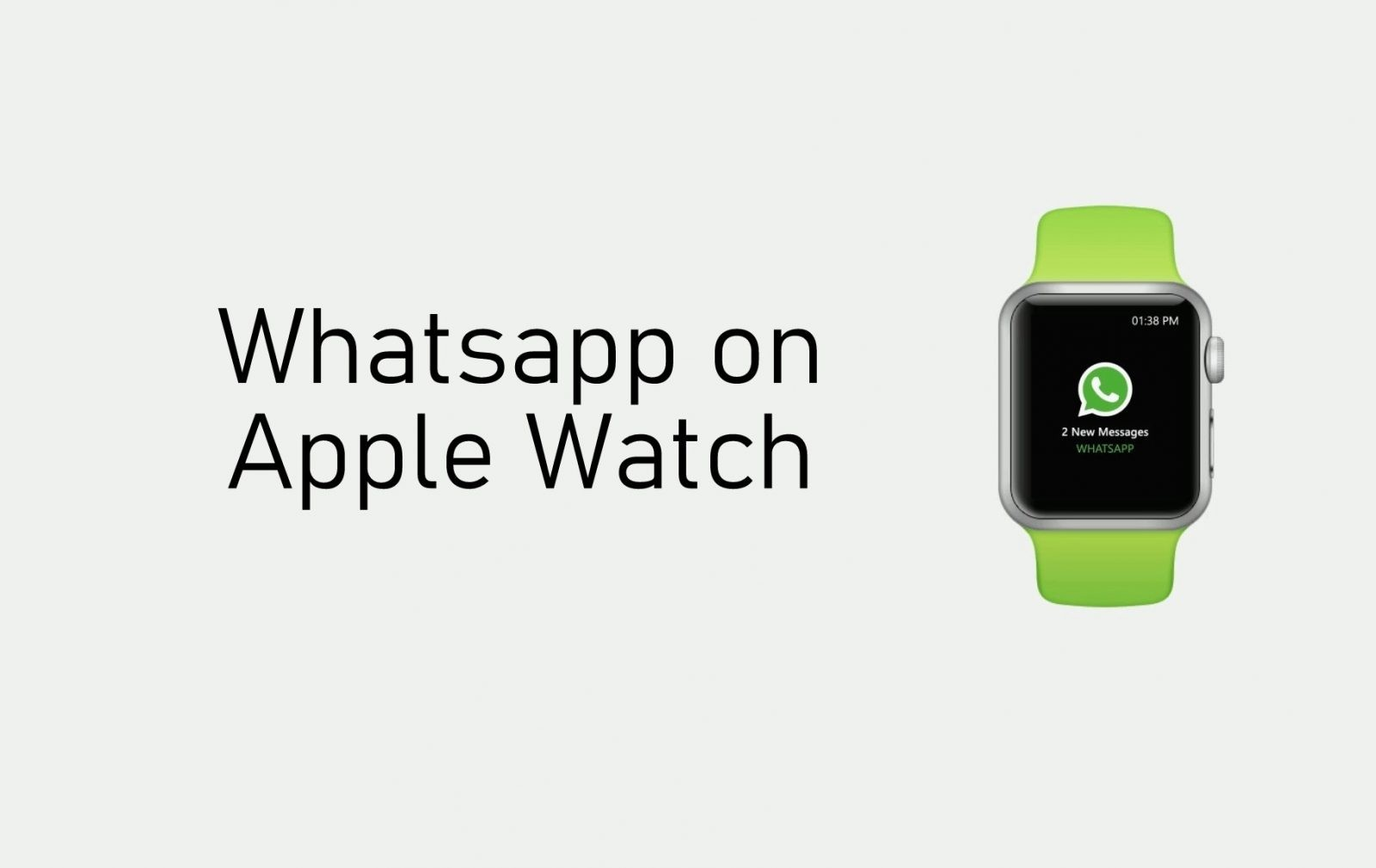 How to Use WhatsApp on Apple Watch [Two Methods]