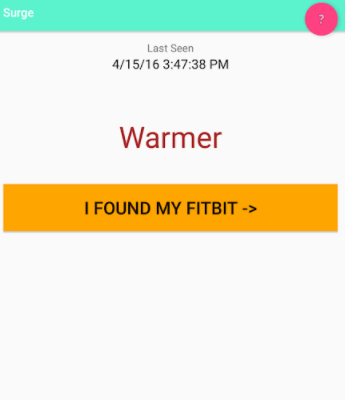 How to Find a Lost Fitbit - using bluetooth finder app