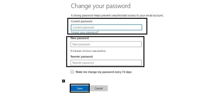 How to Reset Password on Xbox One