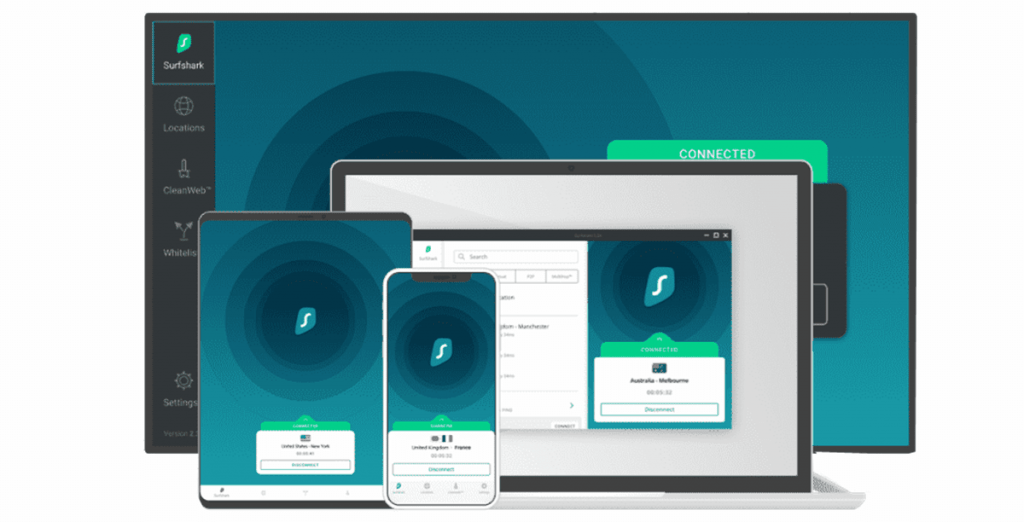 surfshark - Best VPN for iPhone and iPad