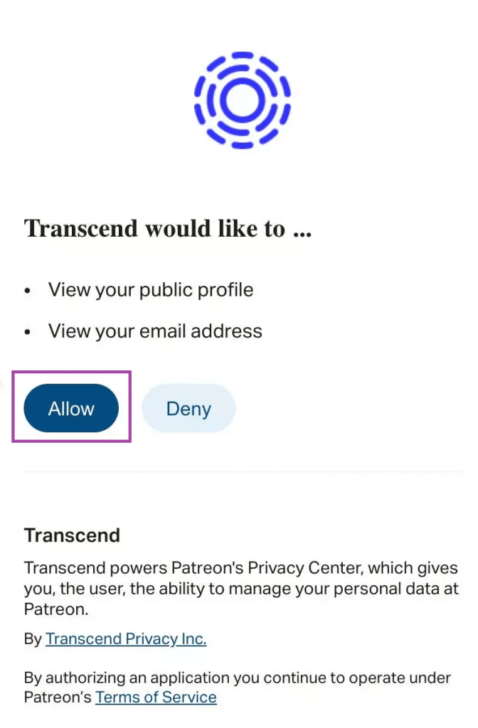 All Access to Transcend - How to Delete Patreon Account