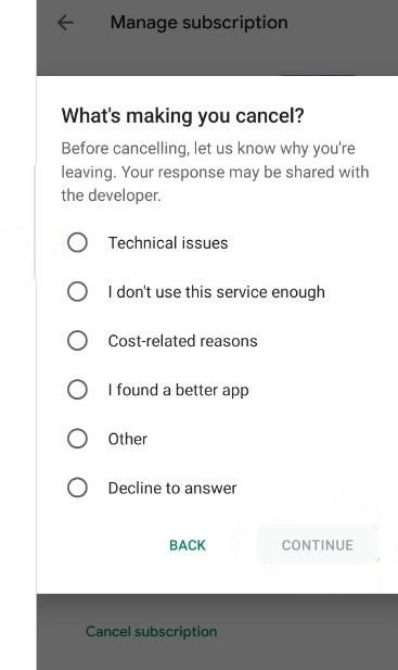 Choose a Reason