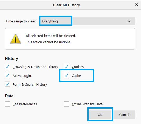 Firefox - How to Delete Cookies on Windows 10