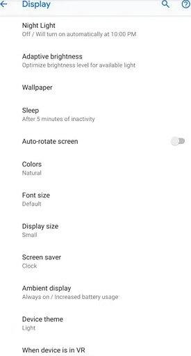 Device Theme - Google Photos Dark Mode