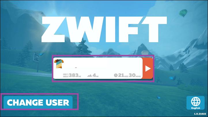 Log in - Zwift