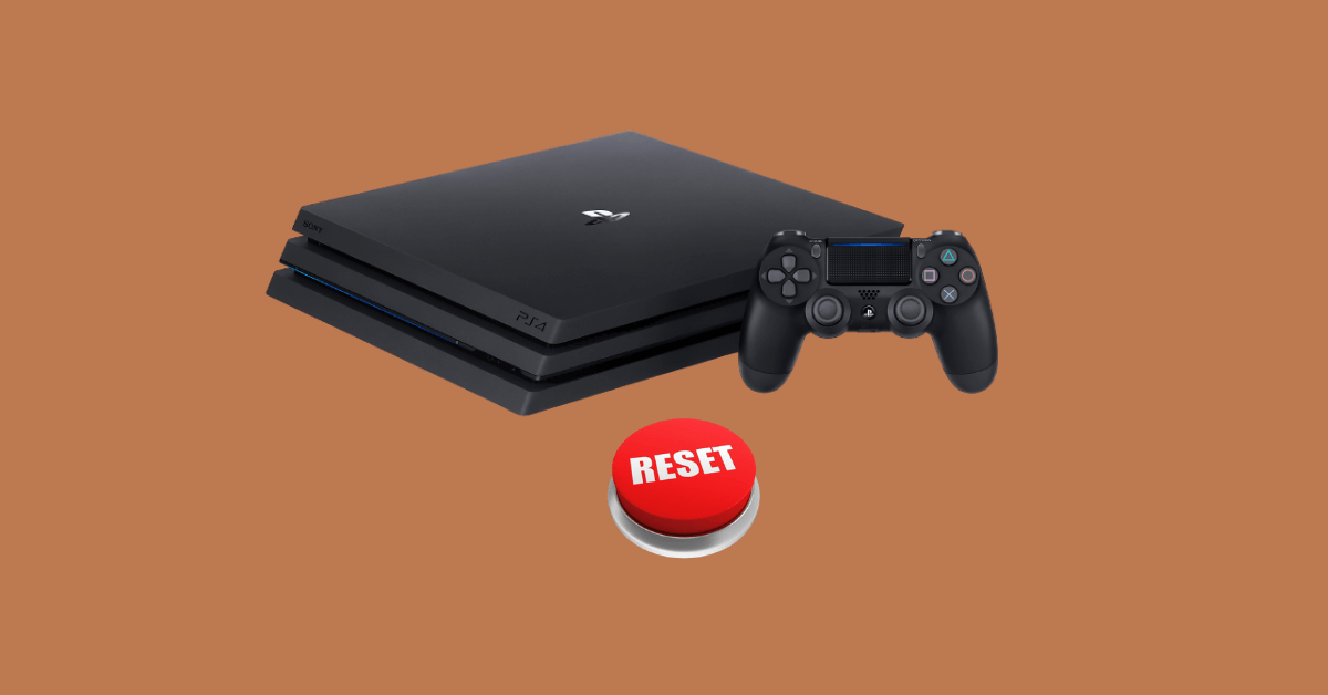 HOW TO RESET PS4 TO FACTORY SETTINGS