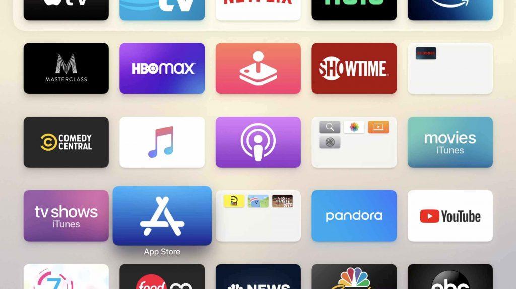 Select App Store - Disney Plus on Apple TV