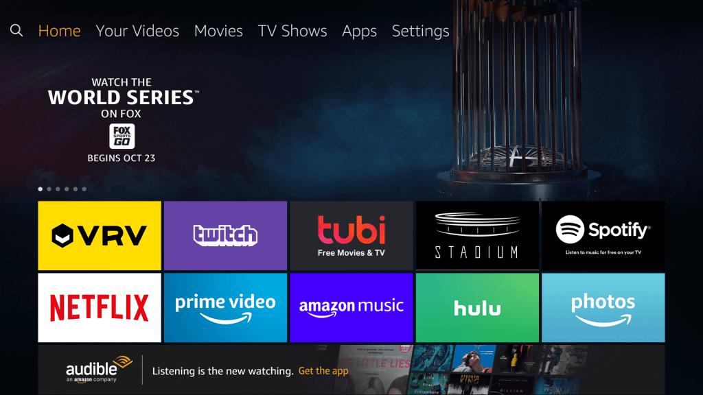 Spectrum TV on Firestick - Settings