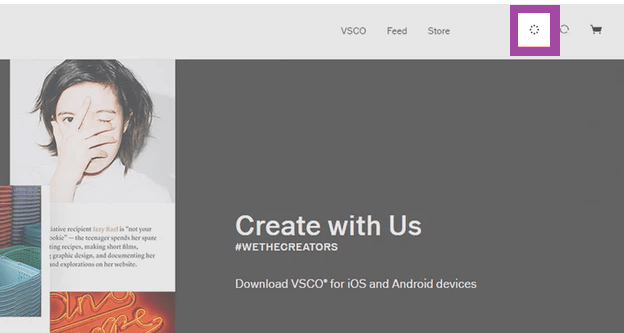 VSCO - Homepage
