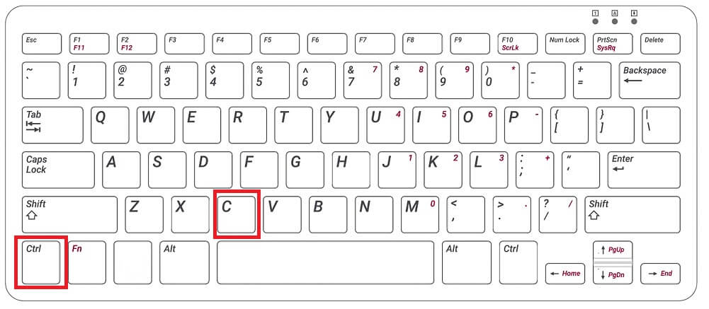 Ctrl + c - How to Copy and Paste on Chromebook