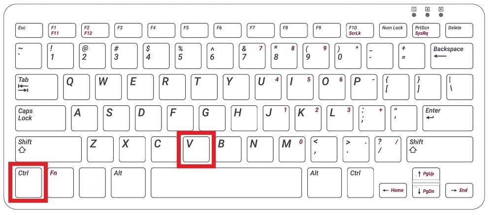 Ctrl + V - How to Copy and Paste on Chromebook