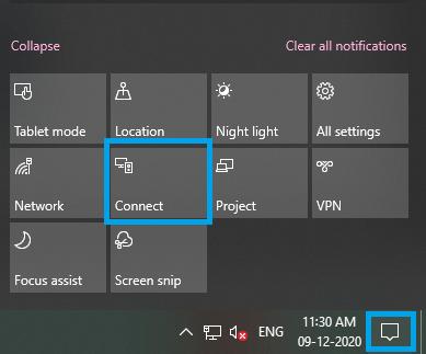 Action Center - Windows PC