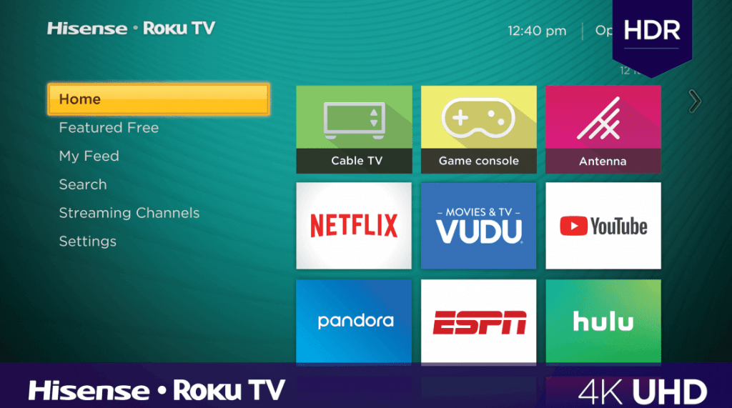 Add Apps on Hisense Smart TV - Roku