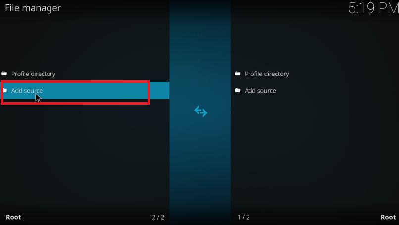 Add Source - Install Exodus on Firestick