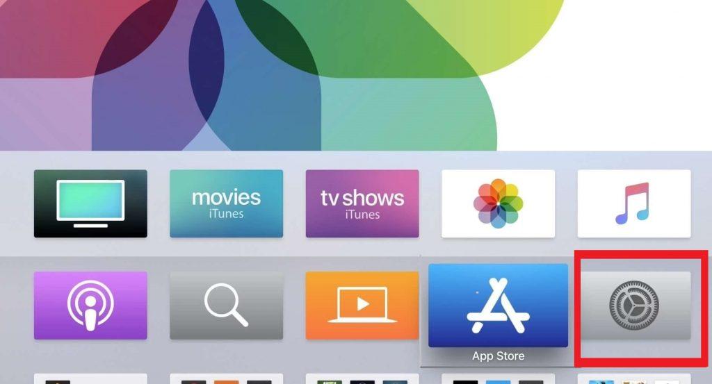 Apple TV - Settings