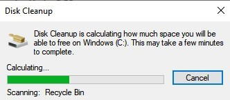 Calculating Disk Space