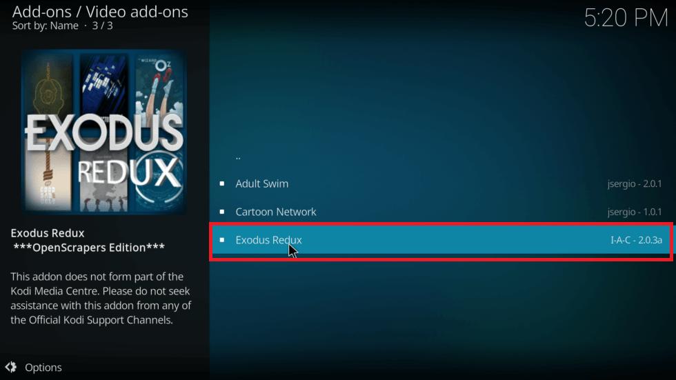 Exodus Redux - Install Exodus on Firestick