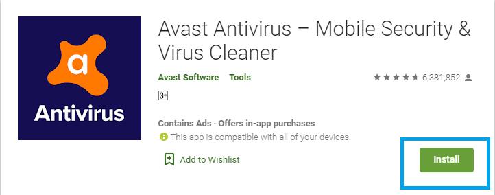 Install Avast on Chromebook