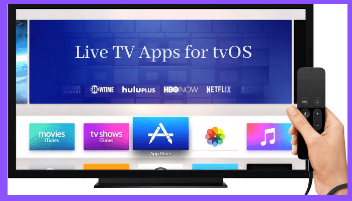How to Watch Live TV on Apple TV without Cable
