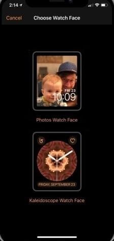 Select Photos Watch Face