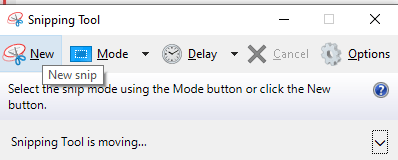 Use Snipping Tool to take a screenshot on Lenovo