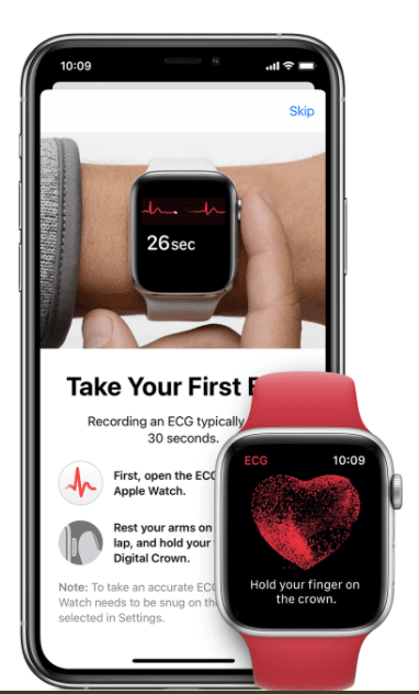 Take ECG on Apple Watch