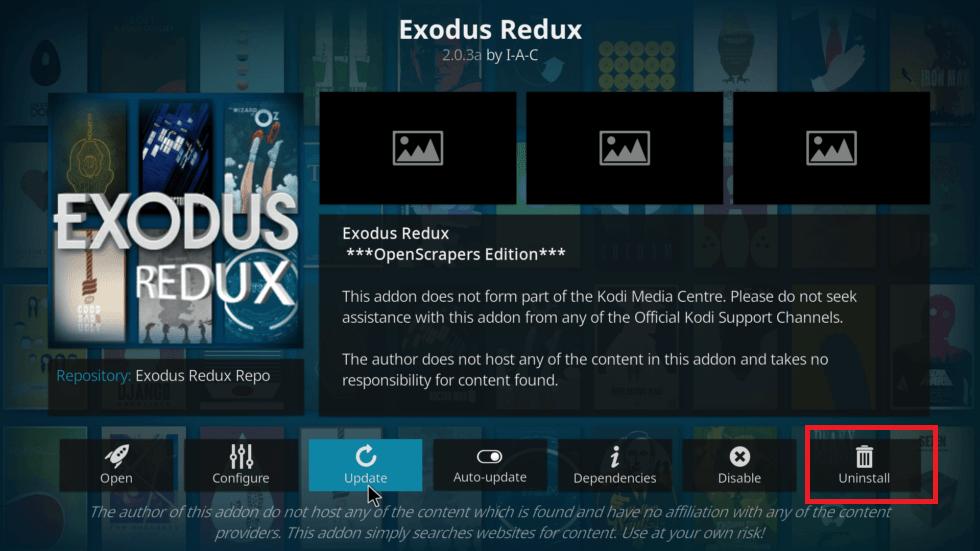 Update Exodus on Amazon Firestick