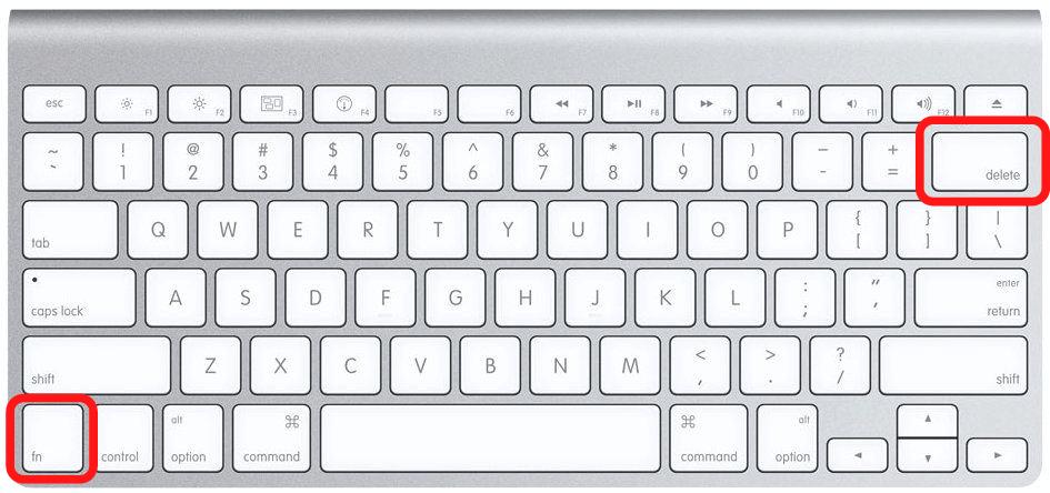 Forward Delete on Mac