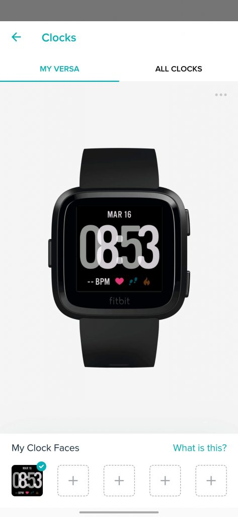How to Change Clock Face on Fitbit