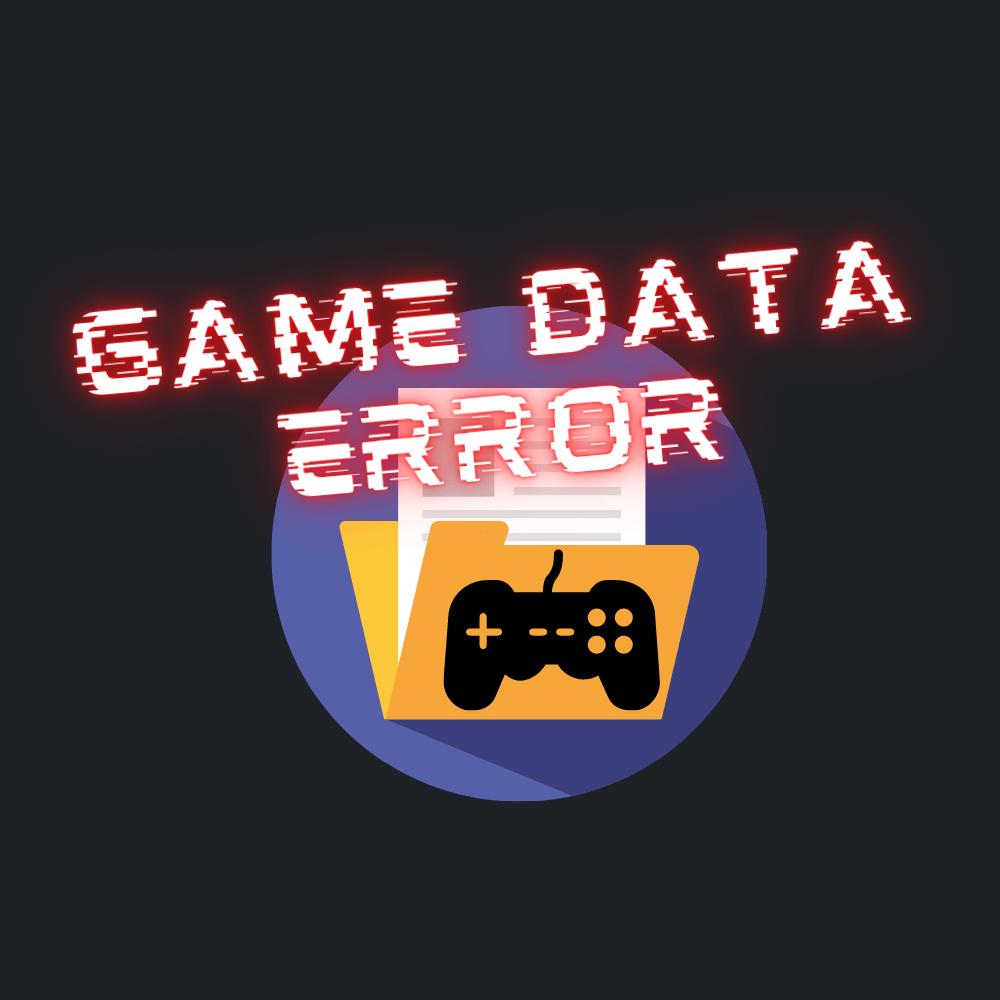 Game data error