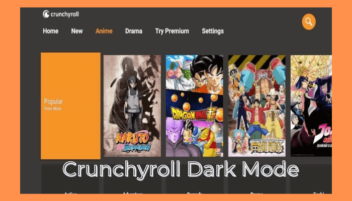 How to Get Crunchyroll Dark Mode On Any Device