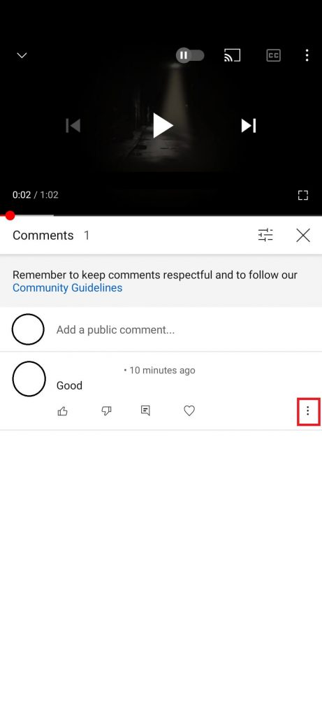 How to Delete Comments on YouTube Videos