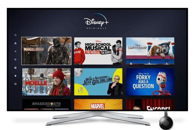 How to CHROMECAST Disney Plus to TV in 2 Easy Ways