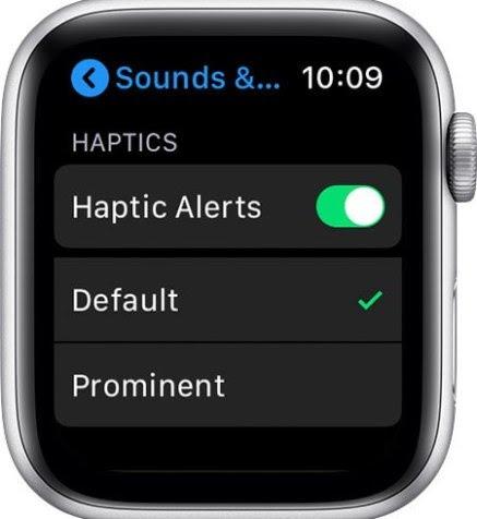Managing haptic alter.