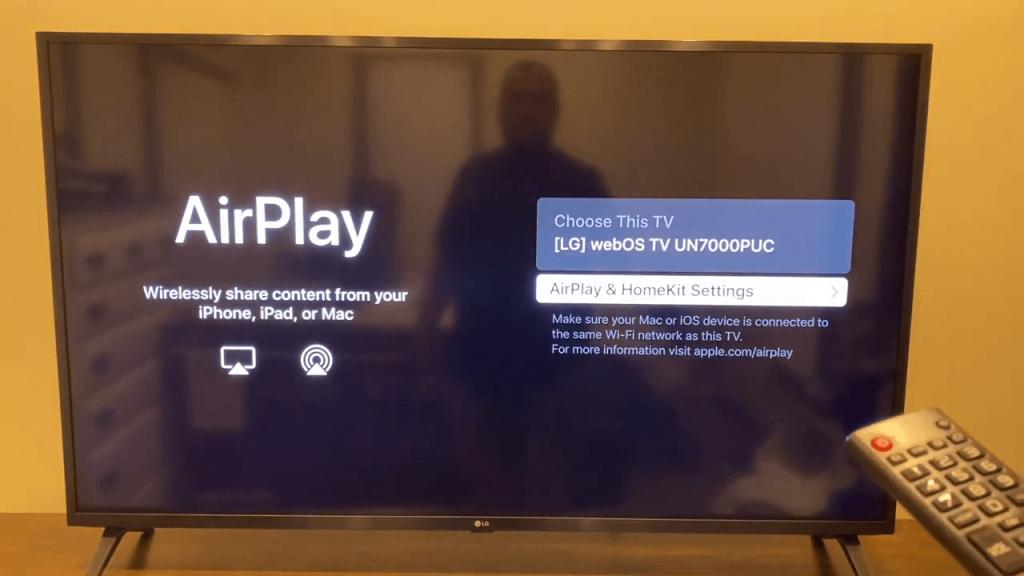 AirPlay & HomeKit Settings