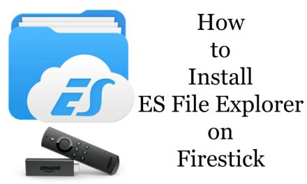 How to Install and Use es file explorer For firestick