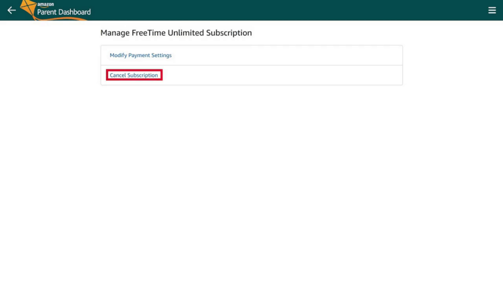 How to Cancel Amazon FreeTime Unlimited