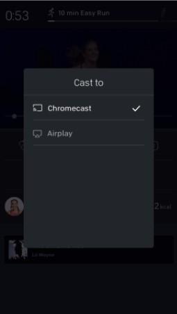 Peloton Chromecast