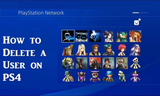 How to Delete a User on PS4 in Different Ways [Easy Guide]