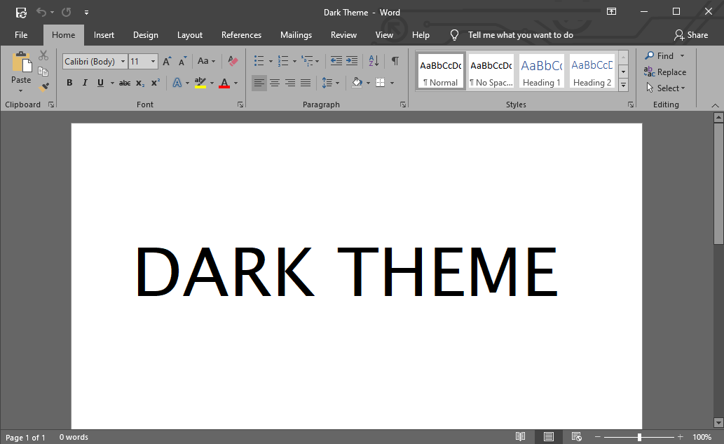 How to Enable Dark Mode in Microsoft Word