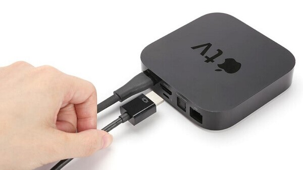unplug your Apple TV wire