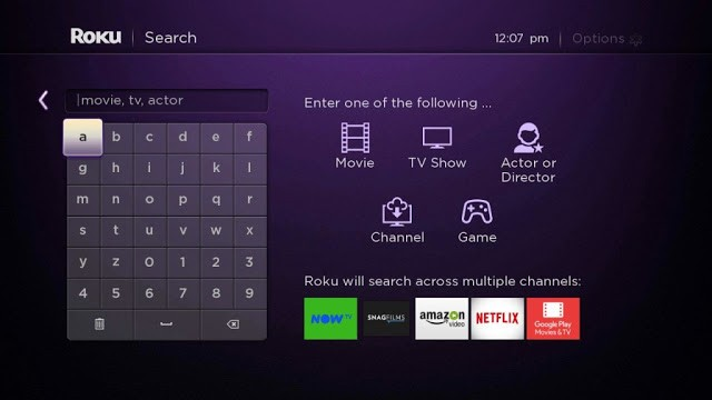 Type Britbox to install Britbox on Roku