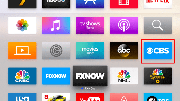 Download and install CBS app