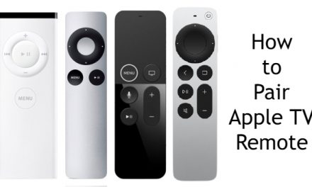 How to Pair Apple TV Remote [All Types of Remote]