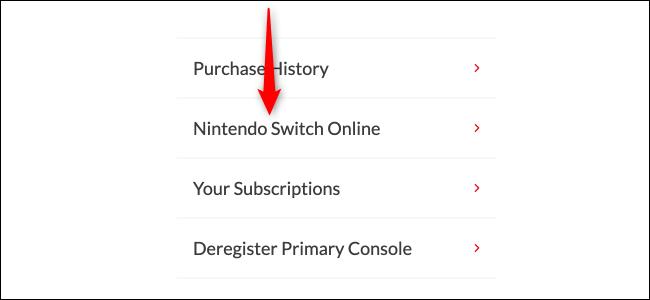 Check Nintendo switch online